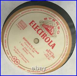 Electrola White/gold Asdw 602-3 Bruckner Symphony No. 8 Vpo Schuricht Ex-/nm