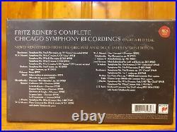 FRITZ REINER Chicago Symphony Orchestra Complete RCA Album Collection 63 CD Set