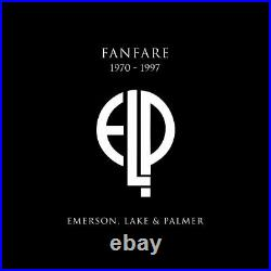Fanfare Emerson Lake & Palmer (1970-1997) Elp Numbered Limited First Edition