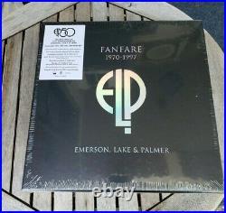 Fanfare The Emerson, Lake & Palmer Box 1970-1997 (cd 22 Discs)