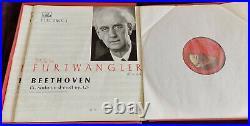 Furtwangler Beethoven Symphony No. 9 2lp Box Hmv Electrola Walp 1286/87 Ed1 Rare