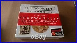Furtwangler Hommage Beethoven & Schubert Megarare Tahra 1008-11 4cd Set