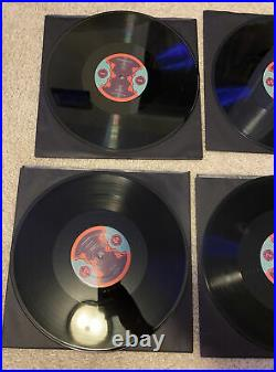 GRATEFUL DEAD at CORNELL-BOX SET-5 record set! MISSING SIDE 5&6, Extra Side 3&4