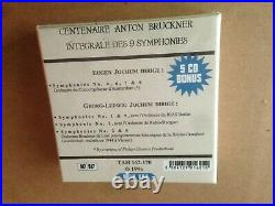 Georg Ludwig & Eugen Jochum Conduct Bruckner 9 CD Boxset Tahra 162-70 Megarare