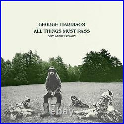 George Harrison All Things Must Pass 50th Anniversary Deluxe 8 LP Box Set BNAS