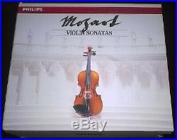Grumiaux, Klien Mozart Violin Sonatas 7CD Philips 422 515-2 W. Germany No IFPI