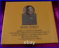 HAYDN ESZTERHAZA OPERA CYCLE ANTAL DORATI 20xCD BOX NO. 0142 /438 167-2/