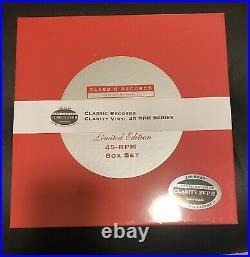 HOLLY COLE TEMPTATION x 8 LP CLASSIC BOX SET CLARITY 200g SV-PII SUPER VINYL