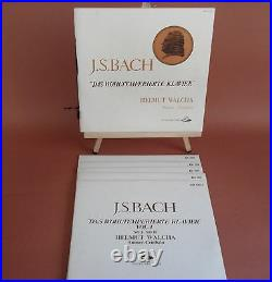 Helmut Walcha- Bach Well Temperer Clavier 5lp Classical Box Set Limited Edition