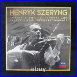 Henryk Szeryng Complete Philips, Mercury & Deutsche Grammophon, 44 CD Box-Set
