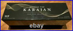 Herbert von Karajan 1938-1960 Collection New CD Box Set 117 CDs