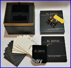 IL Divo Special Edition CD + Binocular + Book Box Set Brand New & Factory Seal