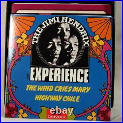 JIMI HENDRIX Classic Singles Collection Vol. 2 10 x 7 Box Ltd. #'d 180 gr