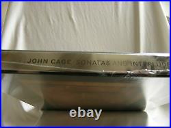 JOHN CAGE Sonatas & Interludes NURIT TILLES piano 45 rpm 200 gram vinyl 3 LP box