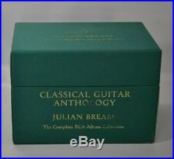 JULIAN BREAM The Complete RCA Album Collection 40 CDS & 3 DVDS BOX SET & BOOK