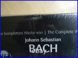 J. S. BACH COMPLETE WORKS OF J. S. BACH = 172 CD BOXSET NEWithDAMAGE BOX