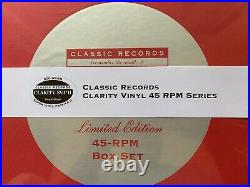 Jethro Tull Aqualung Classic Records 4LP 45 RPM Clarity Vinyl Box Set SEALED OOP