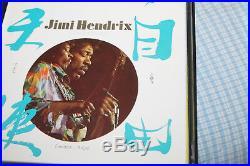 Jimi Hendrix Classic Single Collection Box / Set 10 Singles Mint
