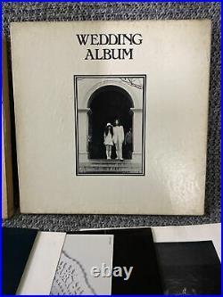 John Lennon Lp Wedding Album 1969 SMAX-3361 Original Press Box Set V. G / N. M