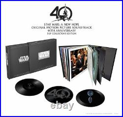 John Williams Star Wars Episode IV A New Hope 40th Anniversary Vinyl Boxset
