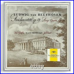 KOECKERT Beethoven Razumovsky quartets Op. 59 DGG tulips LPM 18365 FD 3 LP Box