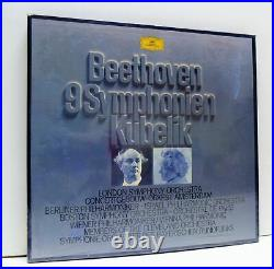 KUBELIK beethoven 9 symphonien 8X LP SEALED BOX SET, 2740 155, vinyl, symphonies