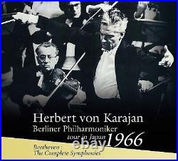 Karajan Berliner Philharmoniker tour in Japan 1966 Beethoven Symphonies 5CD New
