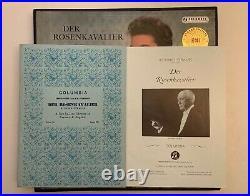 Karajan -r Strauss Der Rosenkavalier-columbia Sax 2269-72 Blue 1ed Uk Mint