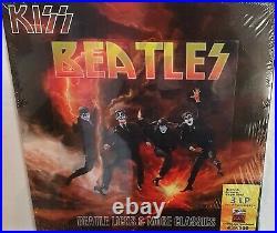 Kiss Beatle Licks & More Classics Limited Box Including 3 Color Lps + 2 Cds