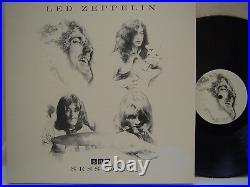 LED ZEPPELIN BBC Sessions LP (RARE 4LP CLASSIC RECORDS Quiex SV-P) MINT