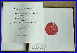 LUDWIG HOELSCHER cello sonatas BEETHOVEN, DEMUS 1stPress MPS BASF 3LP Box MINT