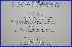 Led Zeppelin BBC Sessions Classic Records 200g 4LP Box Set Vinyl Record SEALED