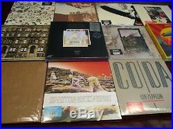 Led Zeppelin Live Boxes + Deluxe Editions Zeppelin I Thru Coda 28 180gram Lp Set