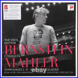 Leonard Bernstein SEALED RARE! Bernstein Conducts Mahler 15LP BOX SET