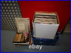 Lerge collection of classical records Mozart etc 1,500 RECORDS /100 BOX SETS