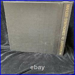 MAHLER Symphonies #1-10 Complete LEONARD BERNSTEIN CBS ST 15-LP BOX Holland