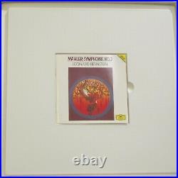 MAHLER Symphony No. 3 2-LP BoxLEONARD BERNSTEIN, NY Phil. Orig. DGG 427 328-1