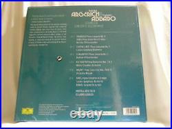 MARTHA ARGERICH & CLAUDIO ABBADO Complete Concerto Recordings 180 gram NEW 6 LP