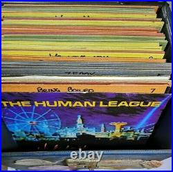 MUST SEE! Large 7 Inch VINYL SET COLLECTORS Box! Ready To Ship
