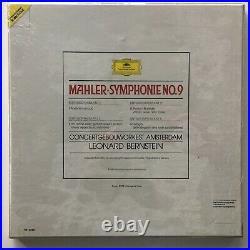 Mahler Symphony 9 Bernstein DGG Digital Box Set 2 Lps Sealed Made Germany