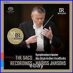 Mariss Jansons BRSO The SACD Recordings 10 SACD Hybrid Box Set BR Klassik