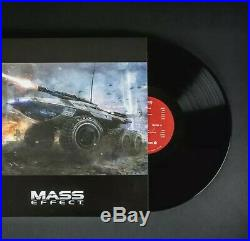 Mass Effect Trilogy Vinyl Boxset 4LP. NEW & SEALED