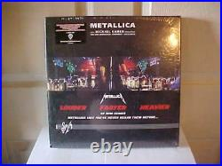 Metallica-S&M 6 LP 45 RPM 180 Gram Vinyl Box Set. RARE! STILL SEALED