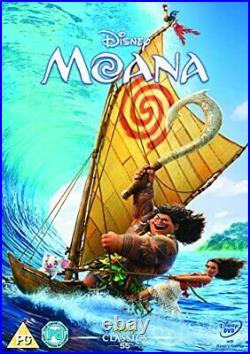 Moana DVD 2016 DVD AJVG The Cheap Fast Free Post