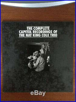 Mosaic THE COMPLETE CAPITOL RECORDINGS OF THE NAT KING COLE TRIO Box Set 18 CDS