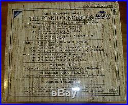 Mozart Piano Concertos Bilson Gardiner Archiv 9CD 3 BOX FULL SILVER