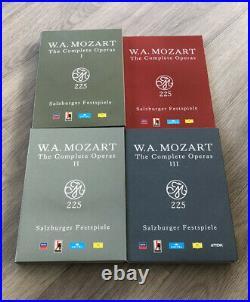 Mozart, Wolfgang Amadeus The Complete Operas 225 Salzburger Festival 33 DVD