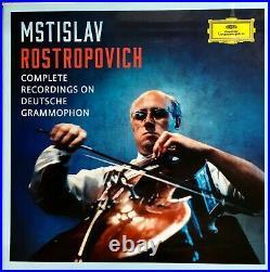Mstislav Rostropovich Complete Recordings on Deutsche Grammophon 37 CD Box Set