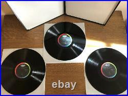 NATHAN MILSTEIN / BACH Partitas and Sonatas CAPTIOL PCR 8370 3LP BOX top logo