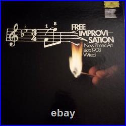 New Phonic Art 1973, Iskra 1903, Wired Free Improvisation, Rare Boxset, NM